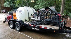 Alpharetta Pressure Washing Equipment
