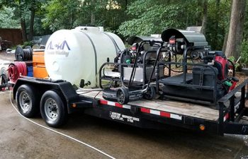 Alpharetta Pressure Washing Equipment